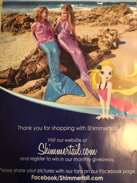 Sirena Tail Collection Mermaid Tail with matching Swimsuit Size: S