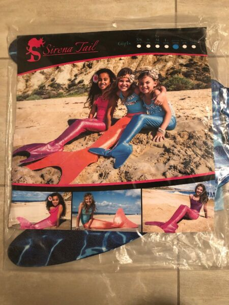 Sirena Tail Collection Mermaid Tail with matching Swimsuit Size: Junior 11 12