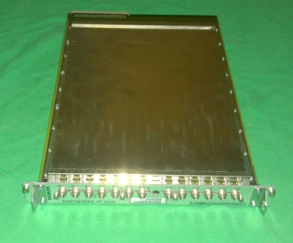 SIEMENS 7391894 SYNTHESIZER 3T BOARD D100 for Symphony MRI Parts (#2953)