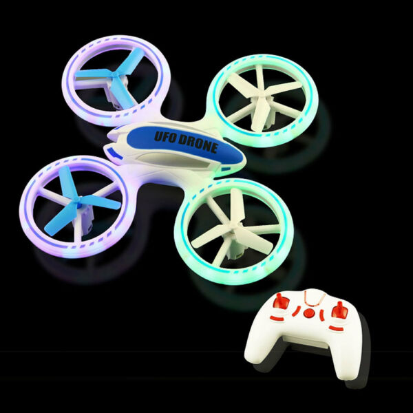 UFO Drone RC Quadcopter 360 Degree Flip 2.4 GHz with LED Lights
