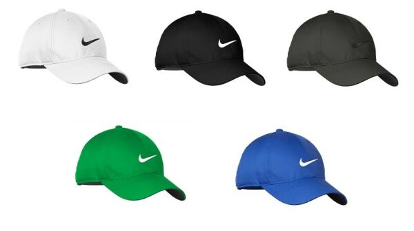 NEW NIKE HAT WITH SWOOSH DRI FIT BASEBALL CAP ADJUSTABLE HATS FAST FREE SHIPPING