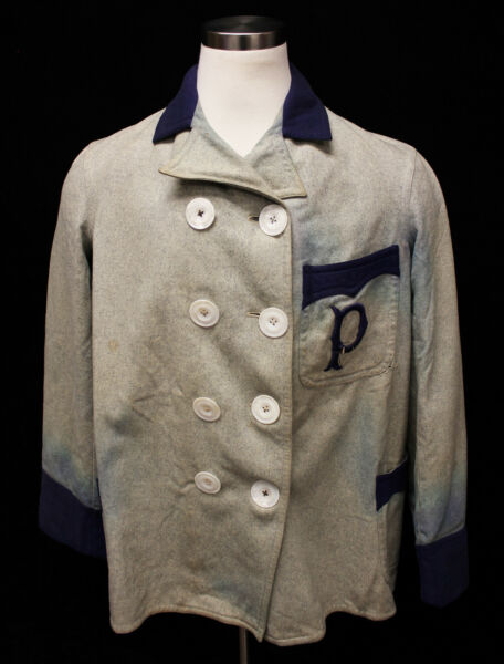 1905-06 Pittsburgh Pirates Baseball Game-Used Warm-up CoatJacket - Dutch Meier