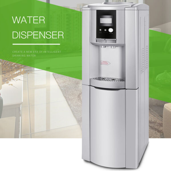 Electric Hot Cold Water Cooler Dispenser Stainless Steel Top Loading 5 Gallon $139.99