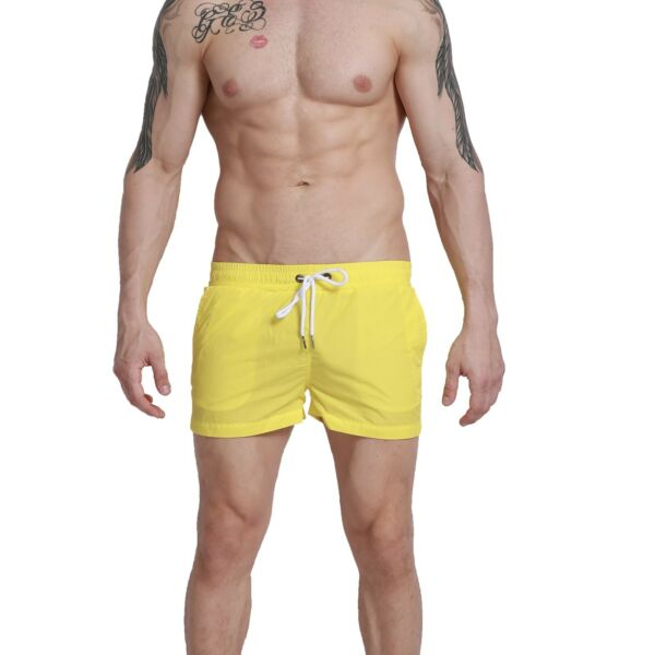 Mens Simple Thin Sports Short Board shorts sexy Sports Surfing Trunks