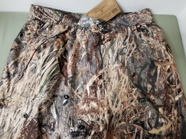 new mens mossy oak duck blind wildfowler outfitter water proof pant.
