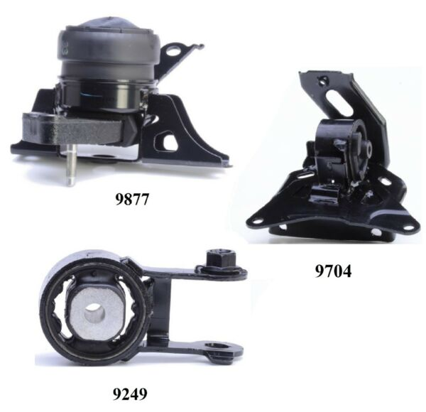 3 PCS MOTOR amp; TRANS MOUNT FOR 2007 2011 Toyota Yaris 1.5L Engine Auto Trans. $119.37