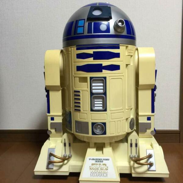 Star Wars R2-D2 Drink Cool and Hot Refrigerator Limited 1000 pieces in the world