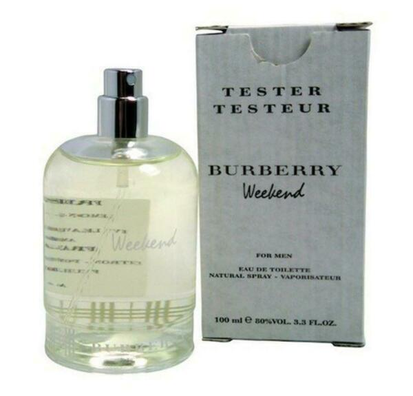 BURBERRY WEEKEND for Men Cologne 3.3 oz 3.4 oz edt New in Box tester $27.99