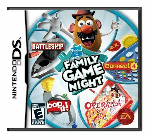 Hasbro Family Game Night Nintendo DS Complete