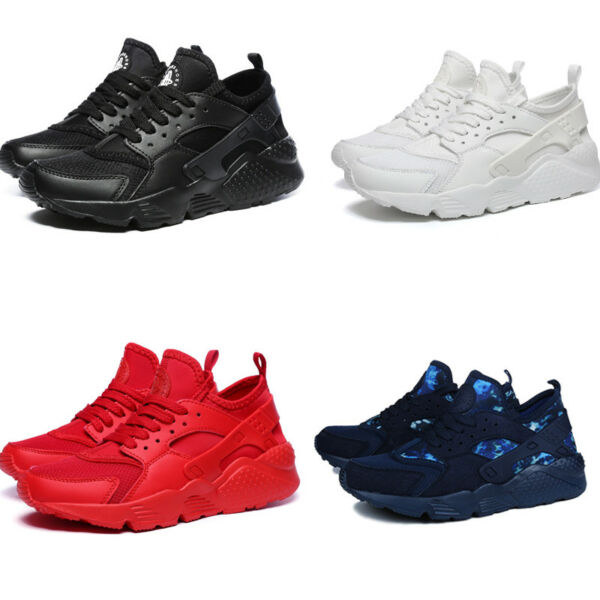 Men's Athletic Sneakers Outdoor Casual Trainers Sports Breathable Fashion Shoes