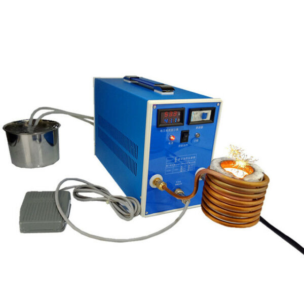 ZVS Induction Heater Metal Smelting Furnace High Frequency Quenching Equipment