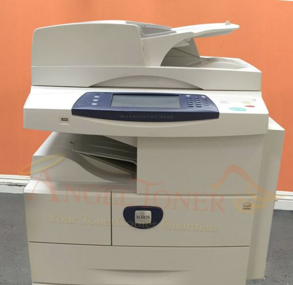 Xerox WorkCentre 4260 Mono MFP 55 PPM Legal A4 Meter Count Less than 100K
