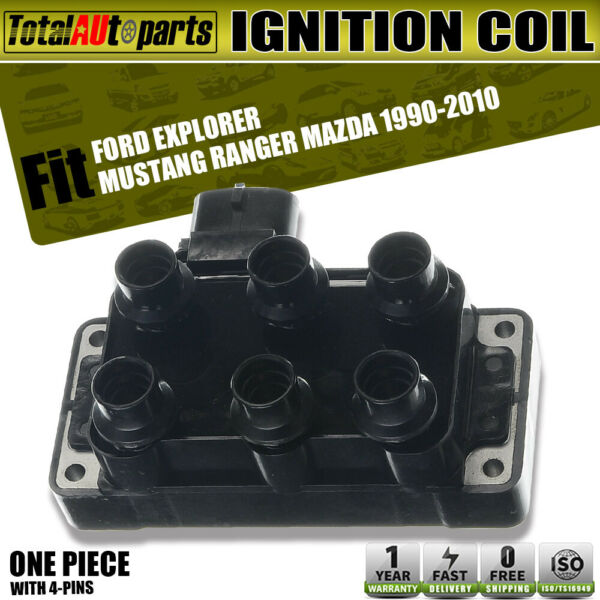 Ignition Coil Pack for Ford Explorer Mustang Ranger Mercury Mazda V6 4.0L FD480