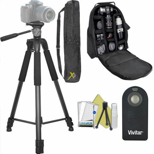 82quot; PRO HEAVY DUTY TRIPOD PADDED BACKPACK FOR NIKON COOLPIX P900 NIKON P1000