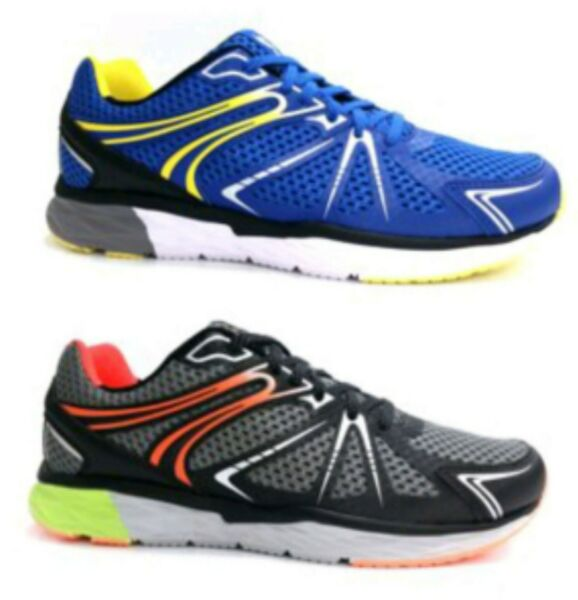 Avia Men's Blue or Orange Lace-up Lightweight Jogger Athletic Sneaker Shoes: