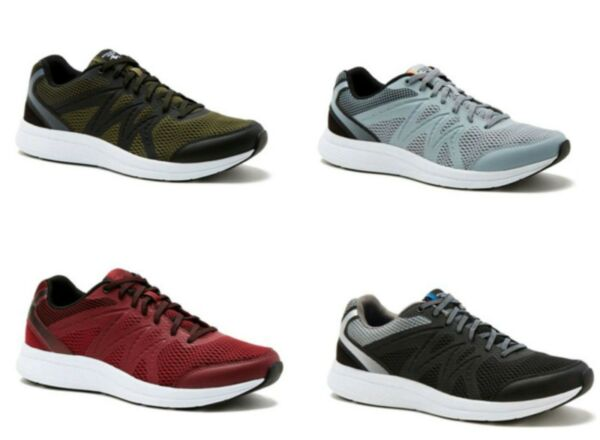 Athletic Works Men's Pick Color Lightweight Athletic Running Sneakers Shoes:7-13