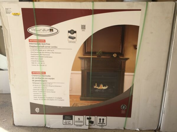 Pleasant Hearth Intermediate Vent Free Fireplace (Local pick up ONLY)