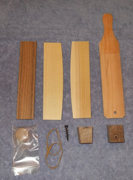 Wooden Box Turkey Call Kit made by PA Amish Craftsman Assembly Required