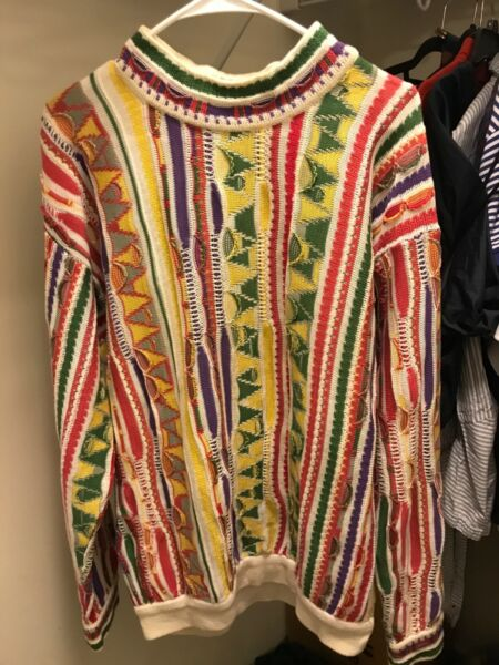 Men's Rare Vintage Coogi Sweater Large Formerly Part of The Spring Collection $145.90