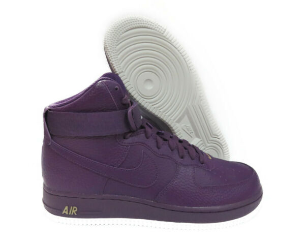 315121-500 Nike Air Force 1 High '07 (Night Purple / White) Men Sneakers