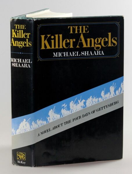 Michael Shaara - The Killer Angels first edition in dust jacket