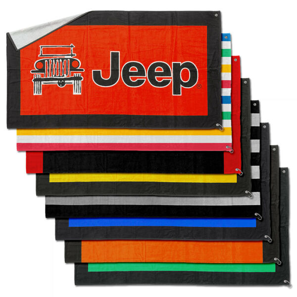Seat Armour Terry Cloth Seat Towel fit for Jeep - Jeep Logotype