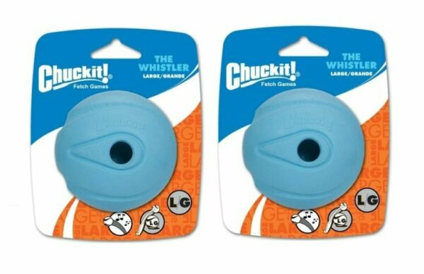 Chuckit! The Whistler Ball Ball Launcher Compatible Fetch Toy Dog