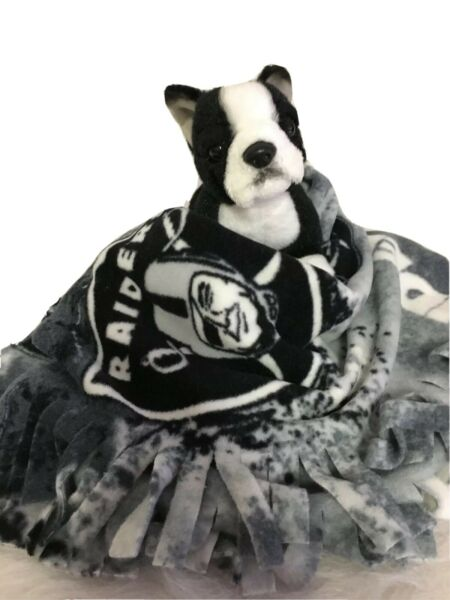 LV RAIDERS GREY Fuzee Fleece Dog Blankets Soft Pet Blanket Throw Cover $14.40