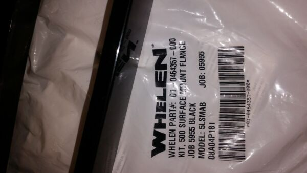 WHELEN 500 SURFACE MOUNT 01 0464357