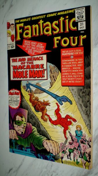 Fantastic Four #31 NM 9.4 OW pgs 1964 Marvel Silver age 1st Dr. Franklin Storm