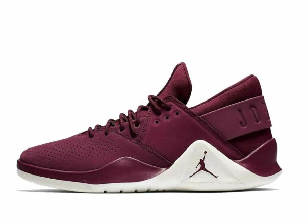 MEN'S NIKE JORDAN FLIGHT FRESH PREM SHOES bordeaux sail AH6462 625 MSRP $120