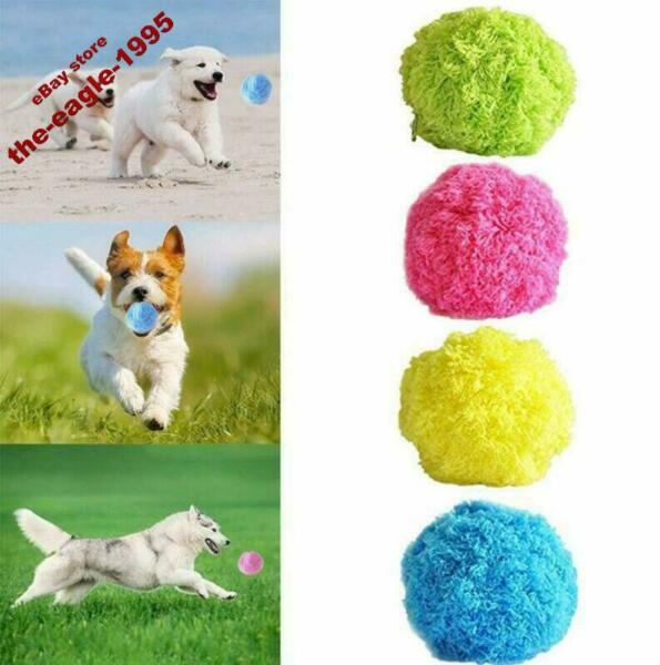 Active Rolling Ball Magic Ball Milo Activation Dog Cat Pet Toys Automatic US NEW