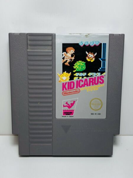 Kid Icarus NES Nintendo Original Classic Authentic Game TESTED GUARANTEED