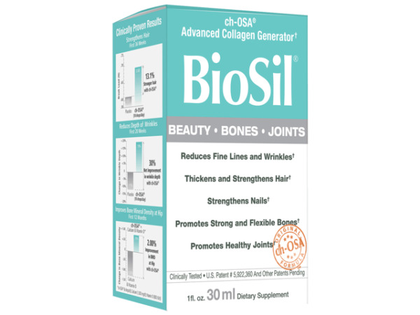 Natural Factors - BioSil Liquid - 1 fl. oz. ( 30 ml )