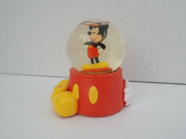 Disney Mickey Mouse #x27;Body Parts#x27; Snow Globe * Paperweight