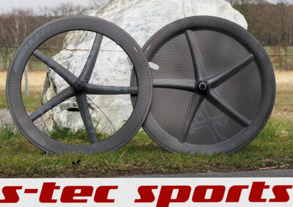 Xentistt Mark 2  Blade Carbon Clincher Tubeless Wheelset Tt