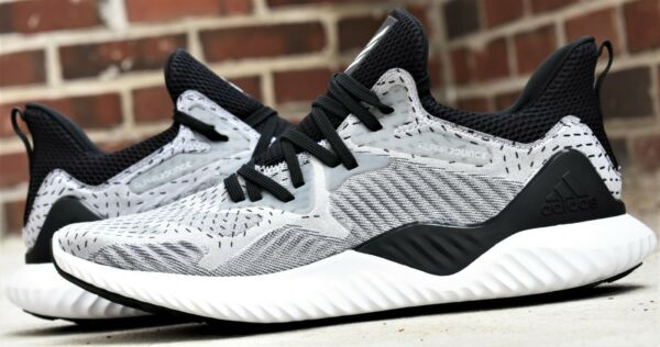ADIDAS ALPHABOUNCE BEYOND M - New Men's Running Shoes Grey Black White Sneakers