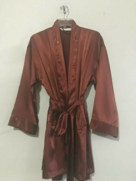 Victoria's Secret LingerIe Sexy Intimate Robe Chocolate Brown Women Size 0S