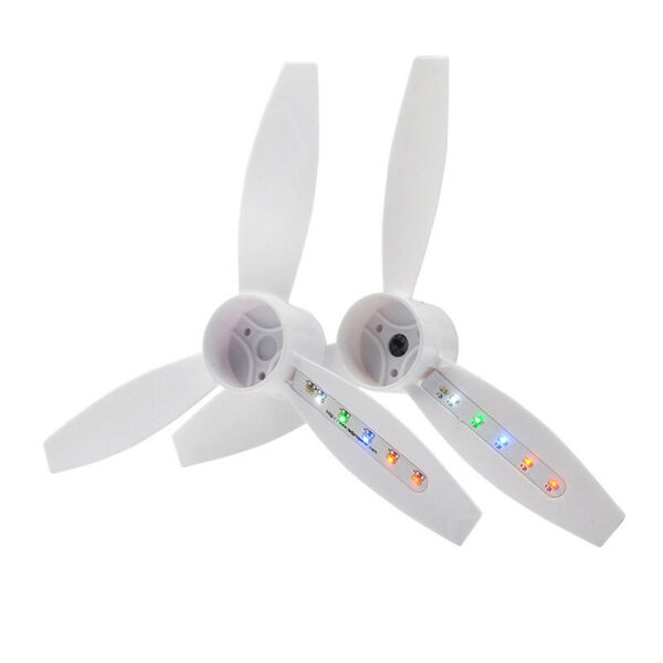 2 Pairs Bebop 2 LED Flash Rechargeable Propeller  For Drone Parrot Accessories