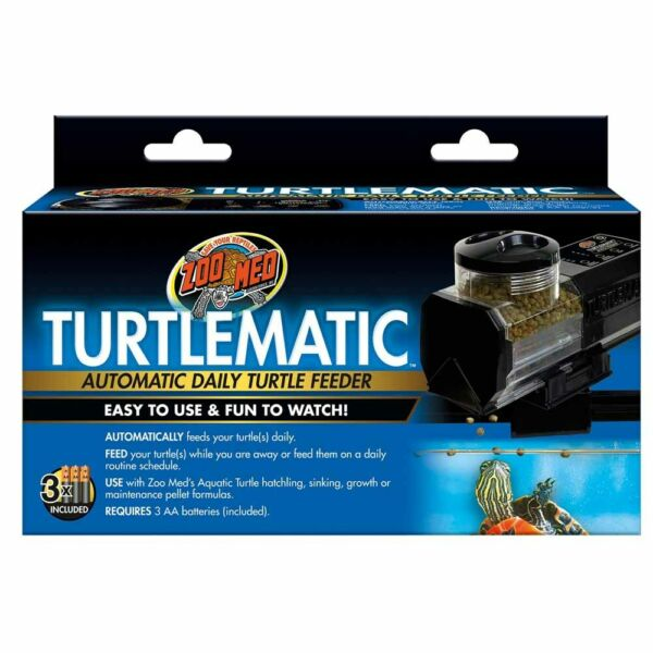 Zoo Med Turtlematic Automatic Daily Turtle Feeder. **Free Shipping**