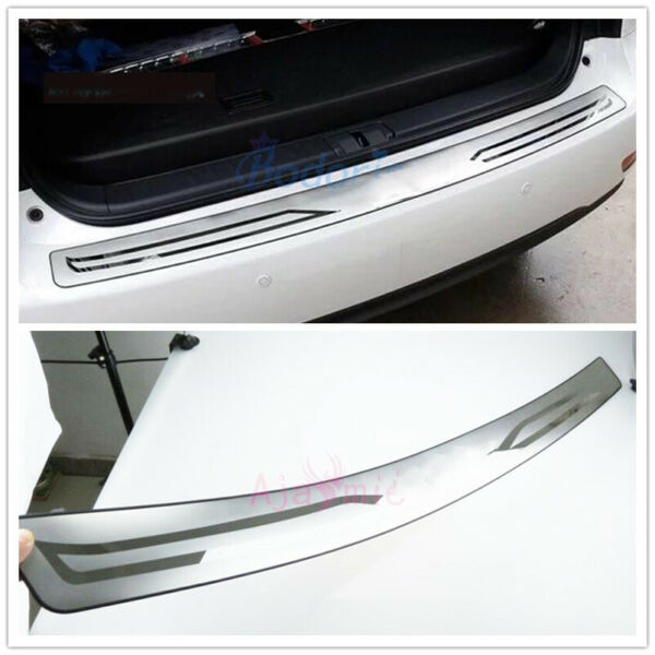 For lexus RX 450h 350 270 2009-2015 Exterior Rear Trunk Bumper Trim Car Styling