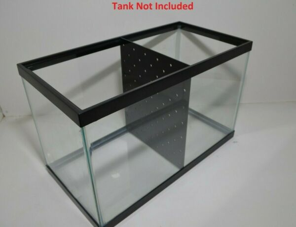 10 Gallon Fish Tank Divider No Suction Cups Required $19.99