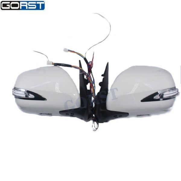 Car Electric Reflector Rearview Mirror Exterior For Toyota Hiace With Led Light
