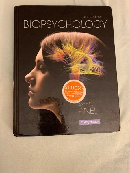 Biopsychology by John P. J. Pinel 2013 Hardcover 9th Edition