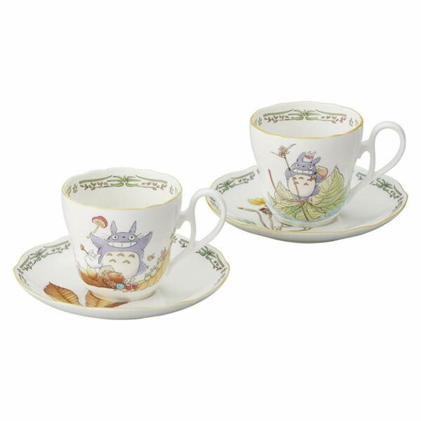 Noritake My Neighbor Totoro Cup&Saucer Pair Set TP978894924-38 Ghibli japan