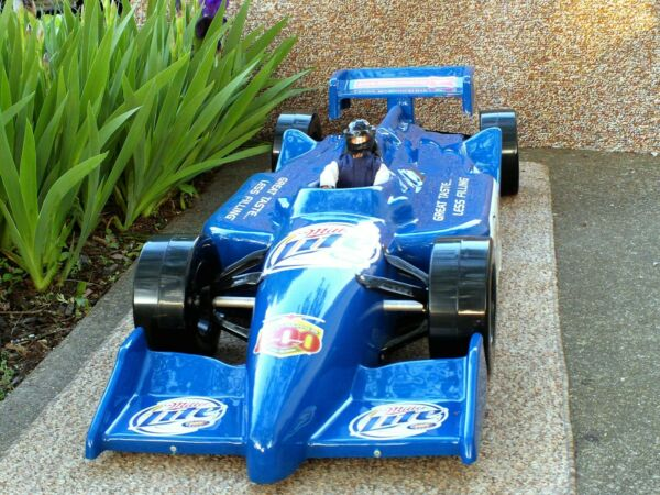 2006 Miller Brewing Co. promotional piece Lite BeerIndy 500 4.4' x 18