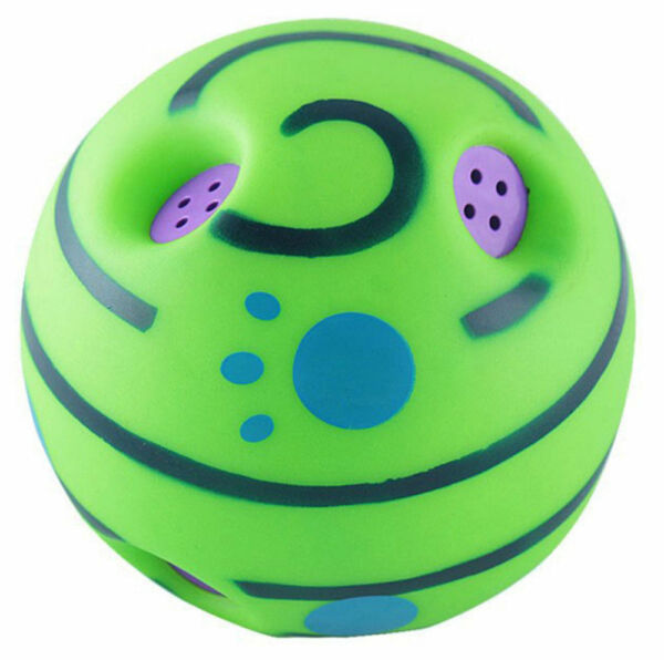 Wobble Wag Giggle Ball Dog Play Training Pet Toys With Funny Sound Hot No Harm