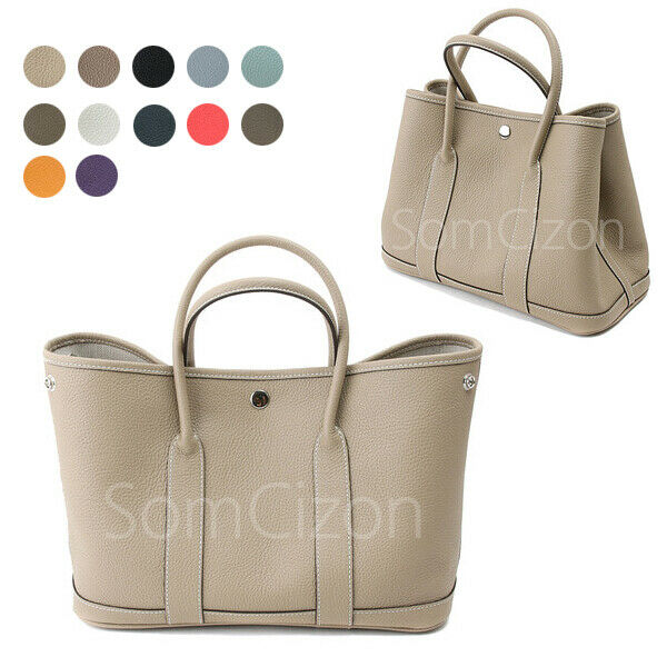 CELEBRITY STYLE GARDEN PARTY MED TOTE SHOPPER PREMIUM TOGOSKIN COWHIDE LEATHER