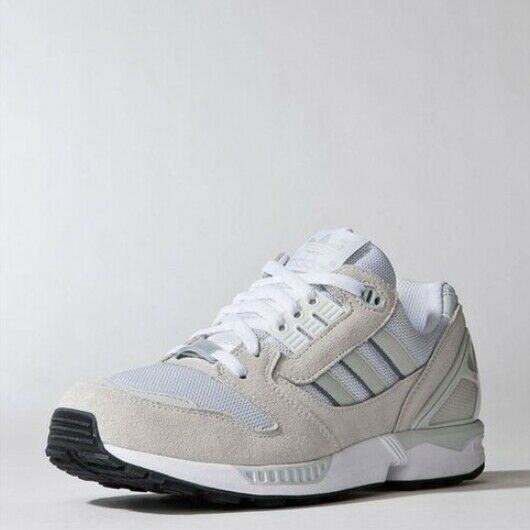 New Adidas Unisex Originals ZX 8000 Athletic Shoes Sneakers- White/Ivory(AQ5640)