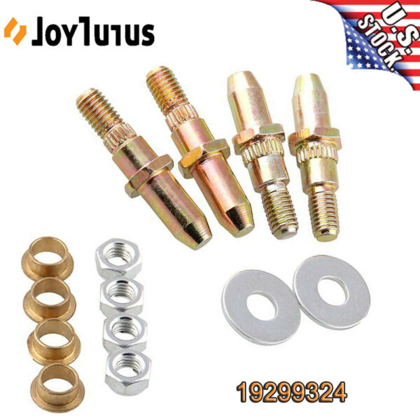 Car Door Hinge Pins and Bushing Kit for Chevy GMC Truck SUV Chevrolet 19299324
